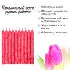 Набор свечей из пальмового воска Сandlesbio Palm Wax Красный 2х18 см 30 штук (WP 05 - 20/180) - изображение 2