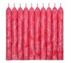 Набор свечей из пальмового воска Сandlesbio Palm Wax Красный 2х18 см 30 штук (WP 05 - 20/180) - изображение 3