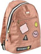 Рюкзак молодежный YES T-94 Tusa женский 0.5 кг 30x42x15 см 19 л Пудровый (558470) - изображение 1