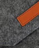 """Чохол для ноутбука Traum 13"""" з додатковим чохлом для БЖ Dark Grey (7112-45) - зображення 4"""