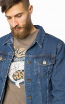 Джинсова куртка MR520 MR 102 1661 0219 S Dark Blue (2000099784940) - зображення 4