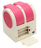 Настольный портативный вентилятор-кондиционер USB HB-168 Розовый (Т43-4) - зображення 3
