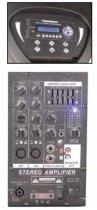 """Комплект звукового обладнання NGS PA8044A 2*8"""" Sub 300Вт+300Вт - зображення 2"""