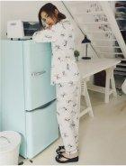 Пижама женская Bow Berni Fashion (M) Белый (55124) - изображение 3
