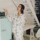 Пижама женская Bow Berni Fashion (M) Белый (55124) - изображение 5