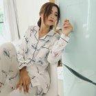 Пижама женская Bow Berni Fashion (M) Белый (55124) - изображение 8
