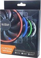 Кулер PcCooler Corona 120 мм Green LED - изображение 7