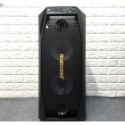 Портативная акустическа система с 2мя беспроводными микрофонами 3000Вт с цветомузыкой Temeisheng (TMS 802)Черная - изображение 2