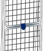 Сушарка для білизни підлогова Gimi Tender 20 м (928455) (8001244833005) - зображення 3