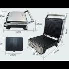 Гриль контактний притискної електрогриль DSP KB-1045 1800W Black - зображення 5