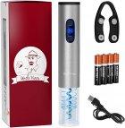 Электроштопор с аккумуляторами, USB-шнуром, ножом для фольги Uncle Viner G103 Best seller в США, подарочный набор - изображение 1