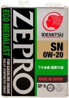 Моторное масло Idemitsu Zepro Ecomedalist 0W-20 4 л (4589573620014) - изображение 1