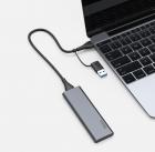 Внешний накопитель SSD Type-C HOCO UD7 128GB Grey - изображение 3