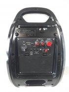 Колонка комбик Bluetooth mp3 радиомикрофон пульт цветомузыка Golon RX-820 BT (gr006278) - изображение 2