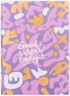 Ежедневник недатированный Yes Good Vibes A5 432 страницы Pattern (252051) - изображение 2