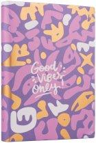 Ежедневник недатированный Yes Good Vibes A5 432 страницы Pattern (252051) - изображение 1