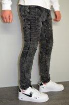 Мужские джинсы hype drive темно-серый размер 33 J-021 - изображение 5