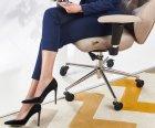 Сменные ролики STEALTHO для офисного кресла Barsky Rondi DxRacer GamerPro AKRacing AMF колесики черно-голубые 5шт, шток 11мм - изображение 5