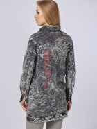 Джинсовая куртка Mila Nova Q-31 46 Черная (2000000012674) - изображение 3