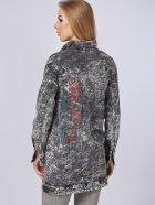 Джинсовая куртка Mila Nova Q-31 50 Черная (2000000012698) - изображение 3