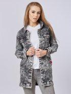 Джинсовая куртка Mila Nova Q-31 44 Черная (2000000012667) - изображение 1