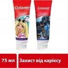 Детская зубная паста Colgate Batman защита от кариеса от 6 лет 75 мл (8714789652917 Batman) - изображение 2