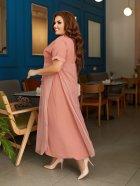 Платье ALDEM 2039 60 Коралловое (2000000480749_ELF) - изображение 2