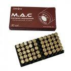 Пістолетні патрони холості Zbroia M. A. C. (9.0 мм, 50шт) - зображення 1