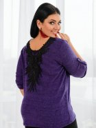 Джемпер DNKA с41241 50-52 Фиолетовый (2000000452043) - изображение 2