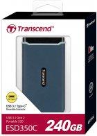 Transcend ESD350C 240GB USB 3.1 Type-C 3D NAND TLC (TS240GESD350C) External - зображення 5