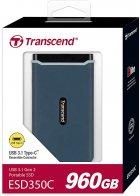Transcend ESD350C 960GB USB 3.1 Type-C 3D NAND TLC (TS960GESD350C) External - зображення 5