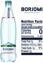 Упаковка минеральной лечебно-столовой сильногазированной воды Borjomi 1 л х 6 бутылок (4860019001360) - изображение 4