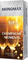 Упаковка чая Мономах черного и зеленого Champagne Moment 3 пачки по 25 пакетиков (2000006780997) - изображение 3