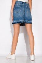 Спідниця джинсова 148P084 (Світло-синій) T&M M Розмір колір Світло-синій - зображення 4
