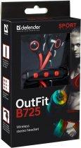 Наушники Defender OutFit B725 Black-Red (63726) - изображение 2