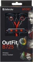 Наушники Defender OutFit B725 Black-Red (63726) - изображение 3