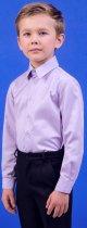 Рубашка Zironka Classic Boy 42-9003-4 122 см Сиреневая (ROZ6205115671) - изображение 5