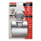 Настінний тримач туалетного паперу, хромована сталь / пластик, присоска Tatkraft Megalock - зображення 2