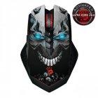 Миша бездротова A4Tech R80A Bloody Skull Black USB - зображення 1