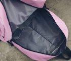 Женский рюкзак TRAVEL розовый большой - изображение 5