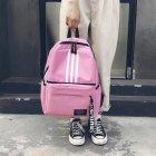 Женский рюкзак TRAVEL розовый большой - изображение 7