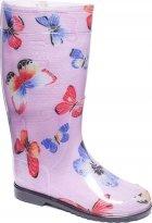 Резиновые сапоги OLDCOM Бабочка на розовом фоне 35-36 (4841347000102) - изображение 2