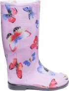 Резиновые сапоги OLDCOM Бабочка на розовом фоне 41-42 (4841347000133) - изображение 1