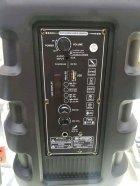 """Беспроводная аккумуляторная Bluetooth колонка Kimiso QS-4002 (8"""") с микрофоном и пультом - изображение 8"""