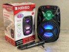 """Аккумуляторная беспроводная Bluetooth колонка Kimiso QS-3603 (6.5"""") с микрофоном и подсветкой - изображение 7"""