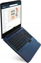 Ноутбук Lenovo IdeaPad Gaming 3 15ARH05 (82EY00G5RA) Chameleon Blue - зображення 3