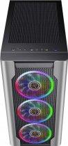 Корпус 1stPlayer DX-4R1-PLUS-BK Color LED Black - изображение 3