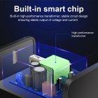 Мережевий зарядний пристрій швидка зарядка адаптер Qualcomm Quick Charge 3.0 / QC 3.0 чорний (QC-21951) - зображення 4
