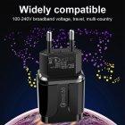 Мережевий зарядний пристрій швидка зарядка адаптер Qualcomm Quick Charge 3.0 / QC 3.0 чорний (QC-21951) - зображення 5
