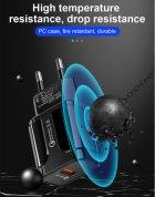 Мережевий зарядний пристрій швидка зарядка адаптер Qualcomm Quick Charge 3.0 / QC 3.0 чорний (QC-21951) - зображення 7